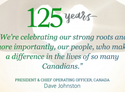 Great West Life Celebrating 125 Years